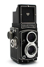 Rolleicord V 6x6cm TLR with 75mm f3.5 Xenar Lens  21394