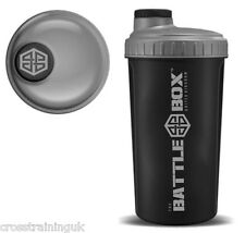 BattleBoxUK SHAKER 700ml Protein Shaker Bottle Mixer Blender Cup Creatine Whey