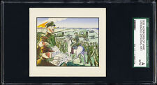 1938 Horrors of War original art  from high# unissued cards w/Chiang Kai-shek