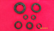 1966-72 TRIUMPH MOTORCYCLE ENGINE OIL SEAL SET UK MADE