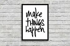 Unframed Prints Modern Wall Art Picture Poster Home Decor inspirational quotes 4