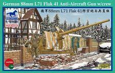 1/35 German WWII 88mm Anti-Aircraft Gun w/Crew Set  Plastic Model Kit