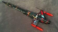 "Accur8 Black ""Twilight Chameleon Skin"" Kit For Estes Interceptor-E Model Rocket"