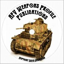 Armored Fighting Vehicles of War 65 volumes CD WW2 tank WWI afv history profile