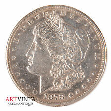 1878 S Morgan One Dollar Silver Silber Münze USA Amerika Coin Liberty VAM?