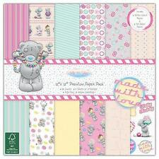 """PACK 36 SHEETS ME TO YOU SWEET SHOP TEDDY 12""""x 12"""" CRAFT CARD FSC PAPER PACK"""