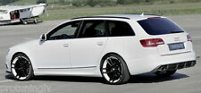 Audi A6 4F C6 04-11 Rieger ABS PLASTIC SIDE SKIRTS SIDESKIRTS SILL COVERS S6