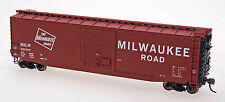 Intermountain # 45927 - 06 50' PS-1 Single Door Boxcar MILWAUKEE # 52078  HO MIB