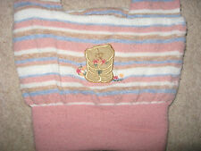 GIRLS CLOTHES ST MICHAEL M&S FOREVER FRIENDS HAT STRIPED ONE SIZE 4-5-6-7-8-9