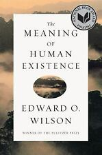 The Meaning of Human Existence, Wilson, Edward O., New Book