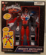 "Power Rangers S.P.D. 12"" Mighty Battlized Red Ranger With Lights & Sounds (MISB)"