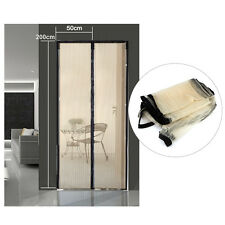 2x Mosquito Net Magnetic Screen Door Anti Bug Fly Mesh Guard Curtain Summer New