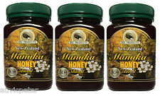 3x500g New Zealand Pure Manuka Honey MG 30+, 3 Bottles Bee Products
