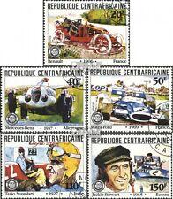 Zentralafrikanische Rep. 776-780 (kompl.Ausgabe) gestempelt 1981 Großer Preis vo