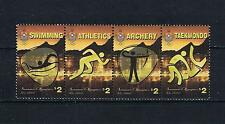 Tonga - 2016 Summer Olympics - Two Strips of 4 - Postage Stamp Issue