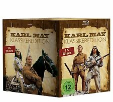 Complete BOX set KARL MAY Classics WINNETOU & OLD SHATTERHAND Orient 16 BLU-RAY