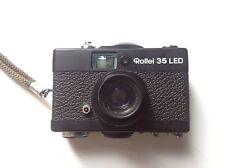 Rollei 35mm LED Cámara Miniatura-Con Estuche Original Y Correa