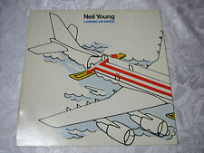 NEIL YOUNG LANDING ON WATER  33 RECORD VINTAGE