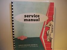 Harley-Davidson Aermacchi 1961 to 1965 Sprint Service Manual