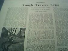 ephemera 1949 article tough travers trial motor bike scrambling