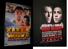 1997 PAY-PER-VIEW POSTER Title Wave DE LA HOYA vs RIVERA & DE LA HOYA vs MARQUEZ
