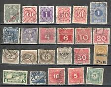 R5090 - AUSTRIA 1947 - LOTTO SEGNATASSE 23 DIFFERENTI - VEDI FOTO