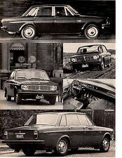 1967 VOLVO 144S ~ ORIGINAL 4-PAGE ROAD TEST / ARTICLE / AD