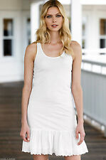 VINTAGE CLOTHING STYLE 100% COTTON FULL SLIP FROM ELLOS / LA REDOUTE SIZE 12 14