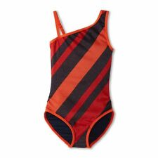 New $89 Little Marc Jacobs Asymmetrical Maillot Swimsuit 2