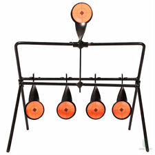 Shooting Gallery Swinging Target Spinning Auto Reset Set Rifle Airgun Hunting