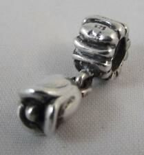 GENUINE PANDORA Sterling Sliver Tulip Dangle Charm Bead 790230 ALE 925