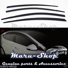 Smoke Door Window Vent Visor Deflector for 17+ Hyundai Elantra 4DR