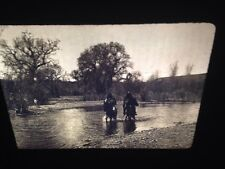 """Edward Curtis """"white River 1903"""" Apache Native American photography 35mm slide"""