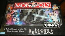 STAR WARS MONOPOLY ORIGINAL TRILOGY EDITION 2004 BRAND NEW SEALED