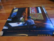 """2000 EBSWORTH COLLECTION 20TH CENT AMERICAN ART POSTER EDWARD HOPPER """"CHOP SUEY"""""""