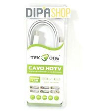 Cavo Hdmi - Hdmi TeKone TO-HD560C Cavetto HDTV Piatto 1080p Lunghezza 1,5m hsb