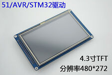 "4.3""  4.3 inch 480*272 TFT LCD Module Display Touch Panel SSD1963 51/AVR/STM32"