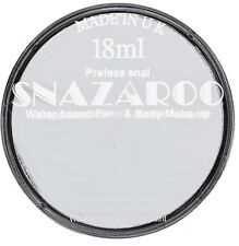 18ML Snazaroo light grey face and body paint