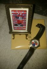 NEW Imported 100 Mickey Mouse Disney Commemorative Photo Frame Stand Watch USA