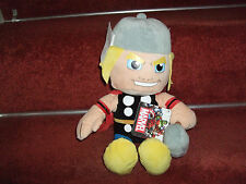 """OFFICIAL MARVEL THOR SOFT TOY PLUSH 12"""" COMIC BOOK HERO NEW TAGS"""