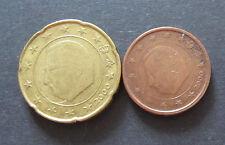 2 + 20 Cent Euro Münze Belgien Prägejahr 2000, aus Umlauf, Sammlerstücke!