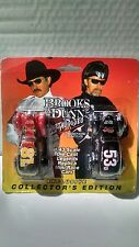 BROOKS & DUNN METAL RODEO EXCLUSIVE MINI RACE CARS DIE-CAST 1:43 SCALE