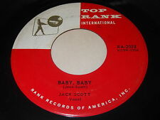 Jack Scott: Baby, Baby / What In The World's Come Over 45 - Rockabilly Rocker