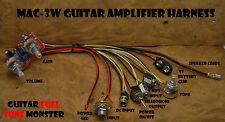 "TONE MONSTER MAC3WH Guitar Amp Kit 4""SPK 3W Volume Tone Gain MP3 HDPH Cigar Box"