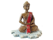 Thai Buddha Statue Nano Mini Aquarium Ornament Fish Tank Budda Decoration