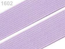 2 METER Gummiband Gummibänder Band  20 mm  flieder NEUWARE (Grundpreis: 1,30€/m)