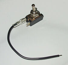 Switch, chrome toggle, on-off  12v 24v DC or 125v AC.      SWH20A
