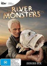 River Monsters: Season 6 DVD Region 4 Jeremy Wade New & Sealed