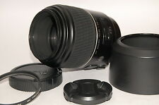 Ext+++ Minolta AF Macro 100mm F/2.8 (32) D w/Lens Hood and Filter from Japan