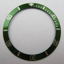 HQ RICAMBIO VERDE lunetta Rolex Submariner Insert per 16610lv 50th-UK STOCK